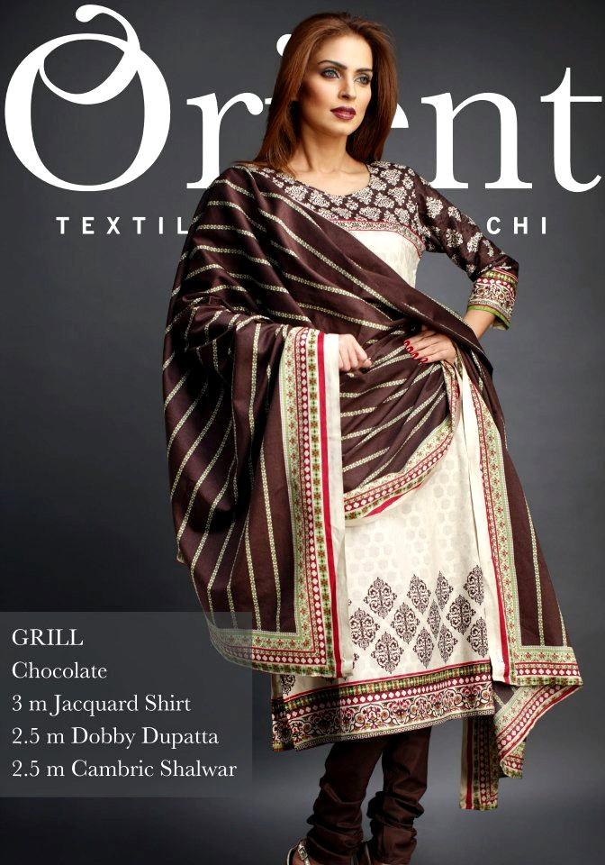 92d7e89d9d3c Orient Textile Mills Latest Winter Collection 2013 For Women ...