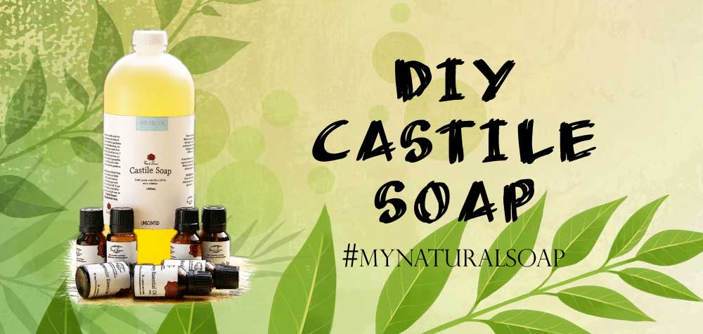 castile soap and essential oil bundle