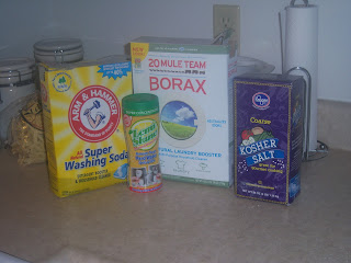 DIY via Pinterest | Homemade Dishwasher Detergent
