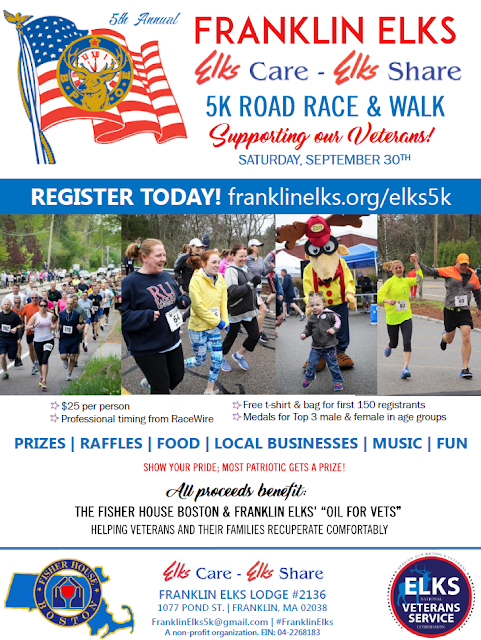 Elks Care, Elks Share 5K Race and Walk - Sep 30