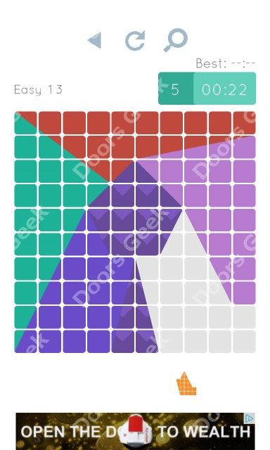Cheats, Walkthrough for Blocks and Shapes Level 13