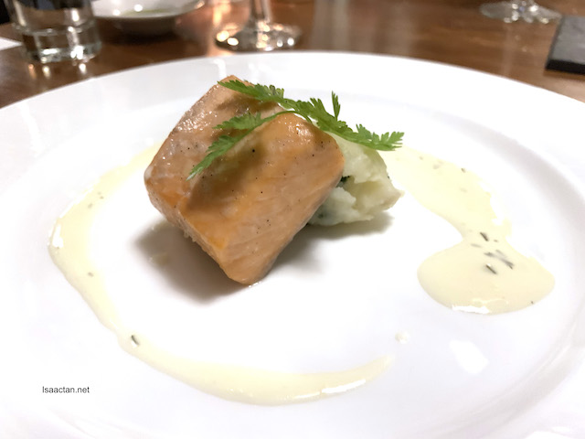 Baked Scottish Loch Fyne Salmon Fillet