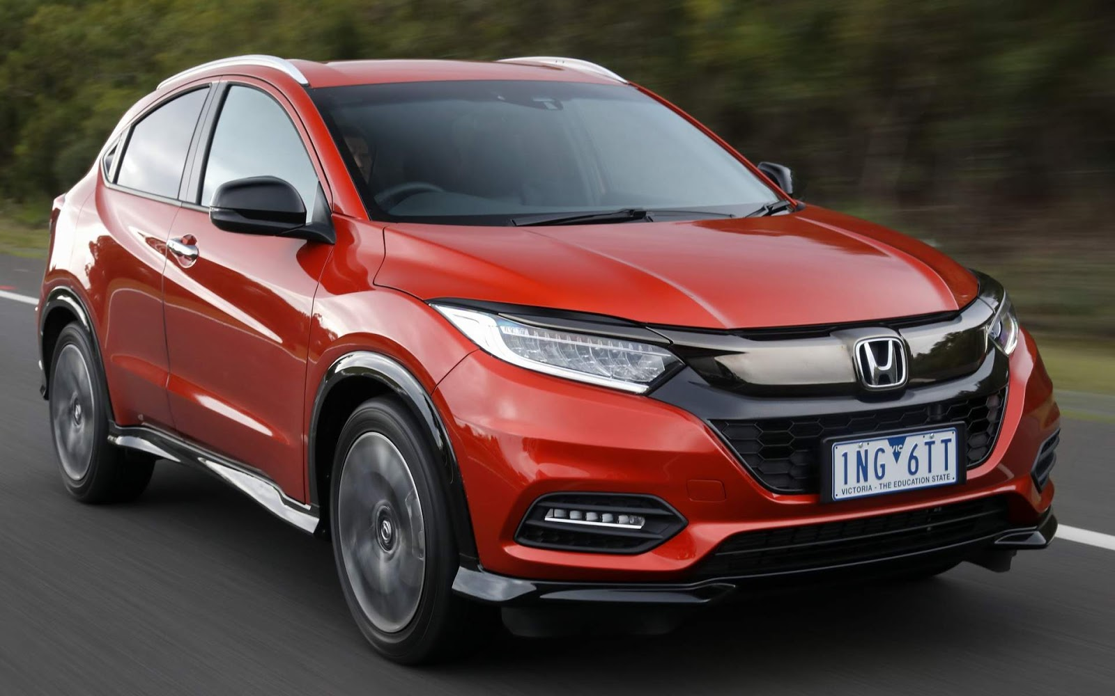 Honda HR-V 2019 chega com versão esportiva RS - Austrália