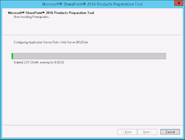 sharepoint 2016 install instructions