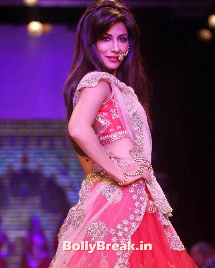 Moni Agarwal Presented by SGL Show at IIJW 2014 - Day - 1, Chitrangada Singh in Lehenga Choli - Hot Pics from IIJW 2014