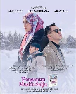 Pengantin Musim Salju, Alif Satar, Siti Nordiana