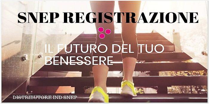 Snep Registrazione
