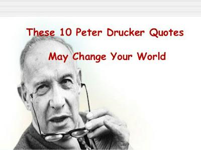ปีเตอร์ ดรัคเกอร์ ผู้ให้กำเนิดการบริหารสมัยใหม่