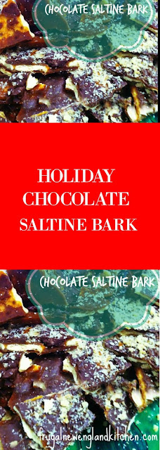 Chocolate Bark Saltine Bark Recipe