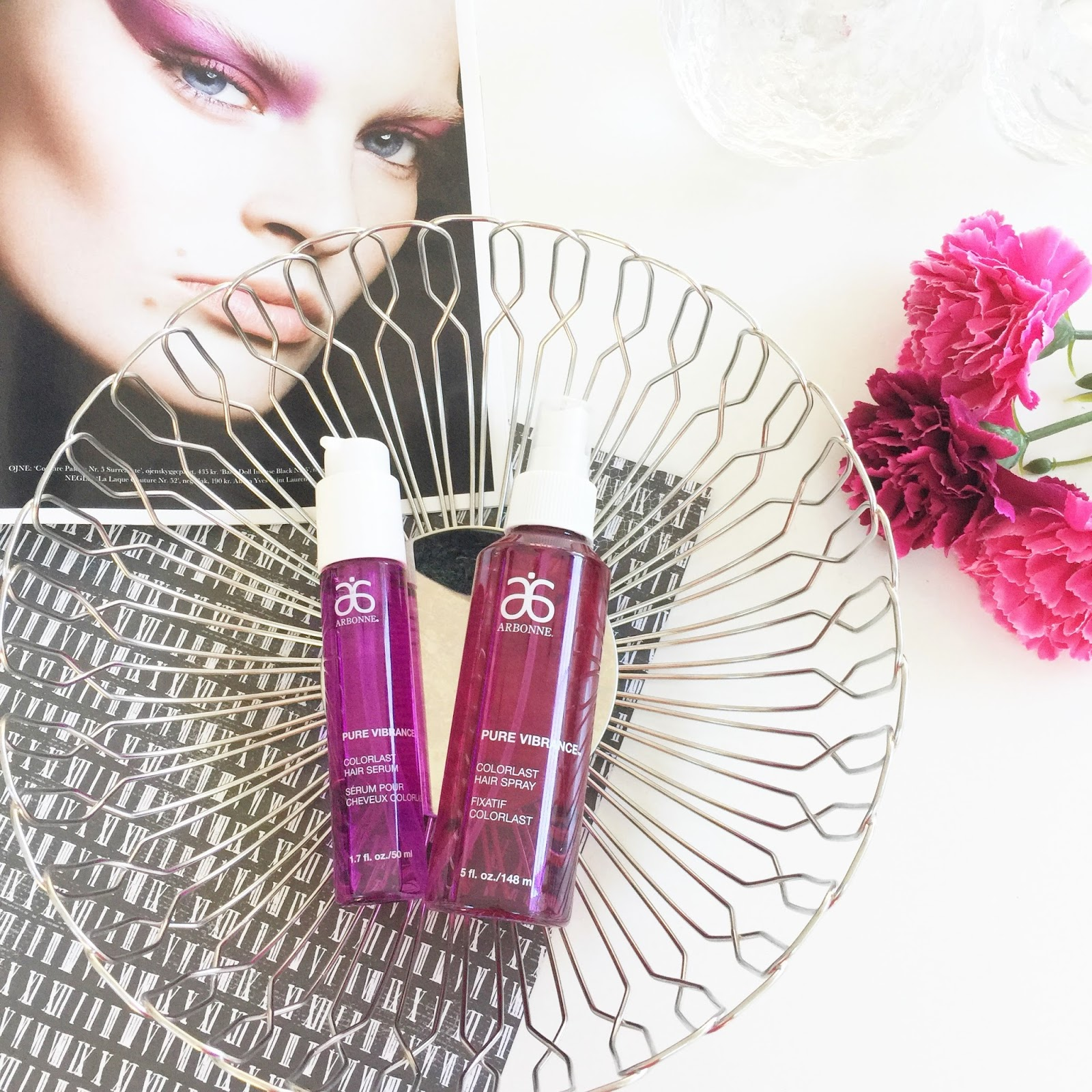 PRODUCT REVIEW: ARBONNE PURE VIBRANCE COLORLAST SERUM AND
