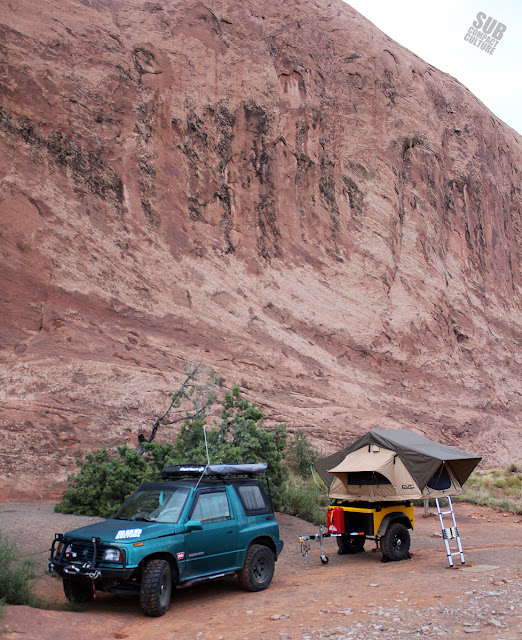 Our Camp Spot in Moab