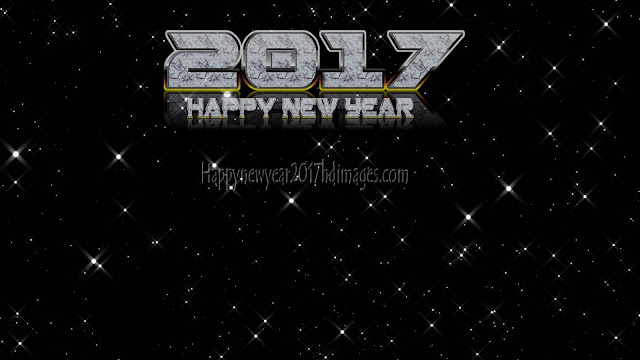 Happy New Year 2017 Sparkling Background Download Free