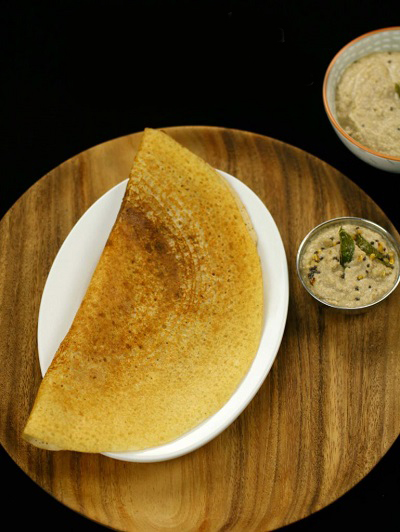 You can also create stale rice dosa (See video)