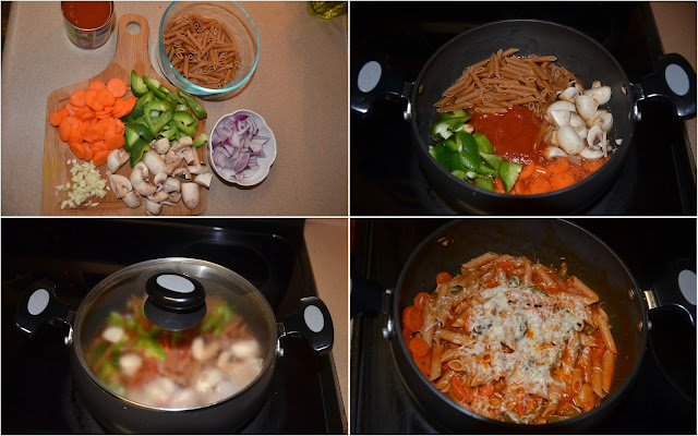 easy pasta lunch recipe