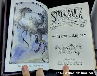 spiderwick the wrath of mulgarath title page