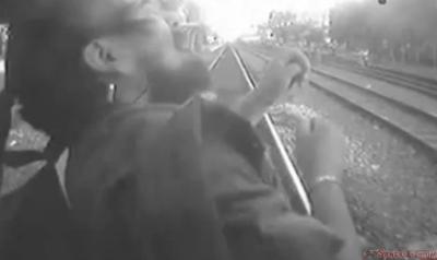 Arrollado Brutalmente por el Tren