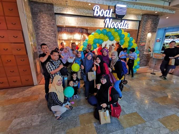 Ayutthaya 2.0 make a comeback Sempena Ulang Tahun ke-5 Boat Noodle Malaysia