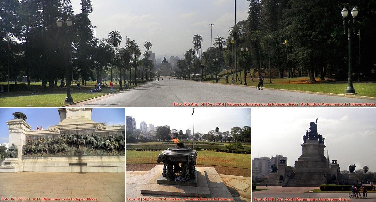 Monumento da Independência no Parque do Ipiranga em São Paulo