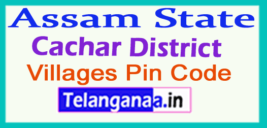 Cachar District Pin Codes in Assam State