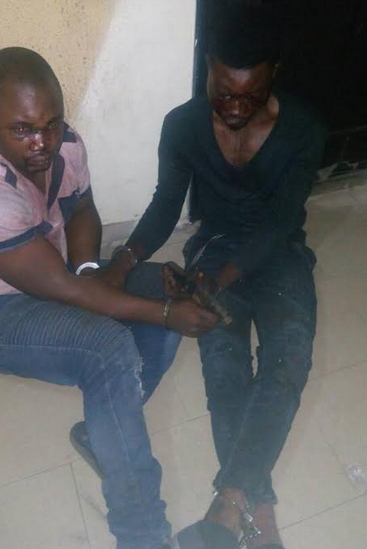 kidnappers arrested ajah lagos escaping victim