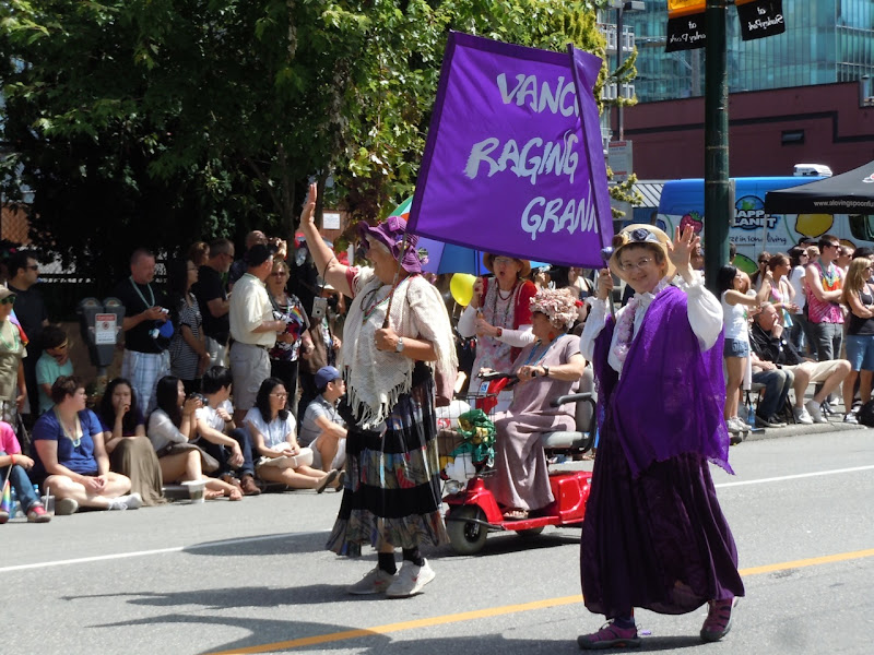 Gay Grannies Vancouver Pride Parade