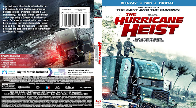 The Hurricane Heist Bluray Cover