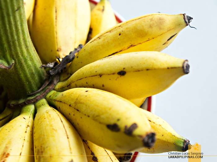 Free Banana at Tagaytay's Mahogany Market Bulalohan