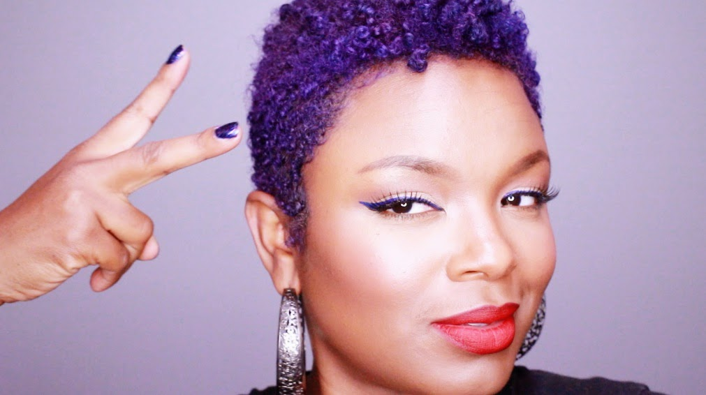 Make A Splash With Temporary Hair Color | Natural Hair For Beginners