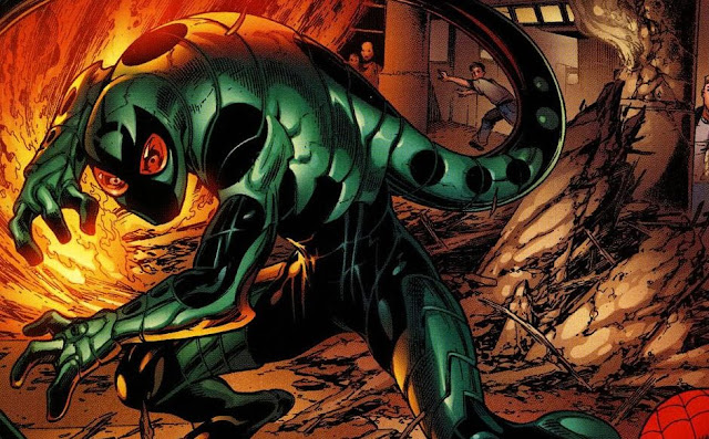 siapa scorpion adalah musuh spiderman marvel, kekuatan scorpion mac gargan