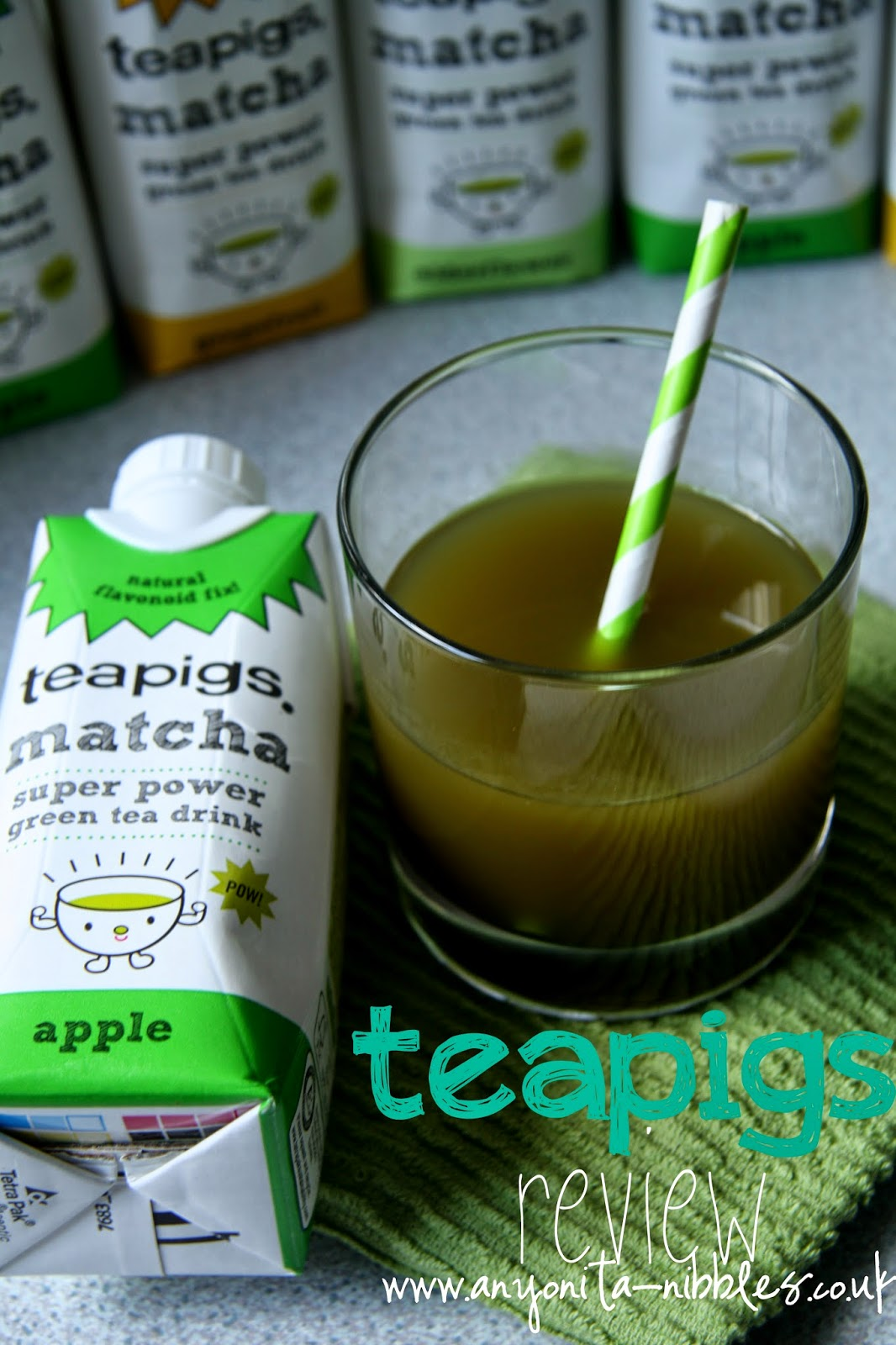 Teapigs Matcha Super Power Green Tea Drink Review | Anyonita Nibbles