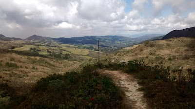 Time to refocus ... (Photo from the mountains around Bogotá, Colombia)