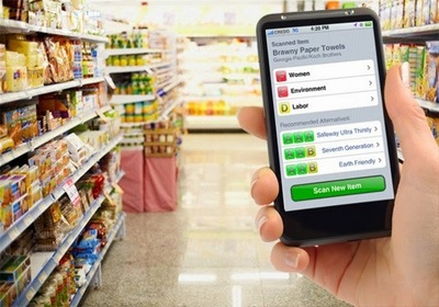 Aplikasi mobile Buycott