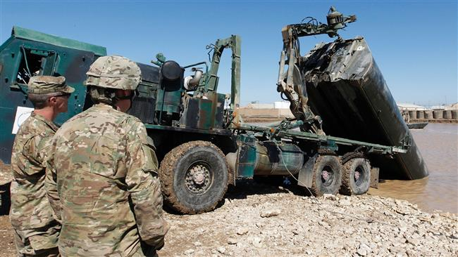 US soldiers' death in Iraq due to artillery 'mishap'