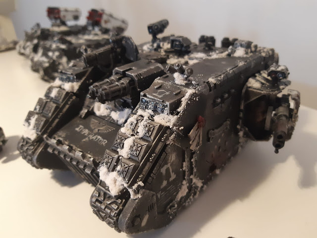 Land Raider Raven Guard