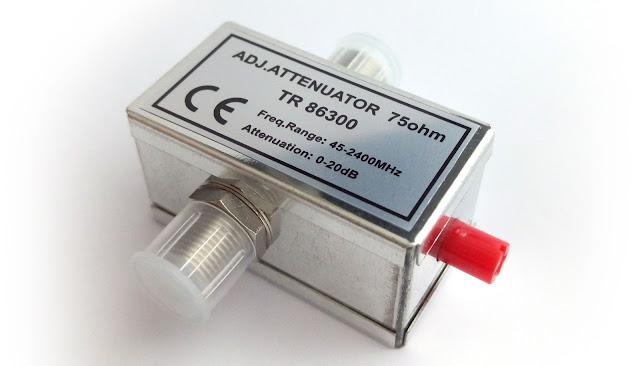 ¿Qué es y para qué sirve un Atenuador de señal de televisión? | Elementos de Telecomunicaciones