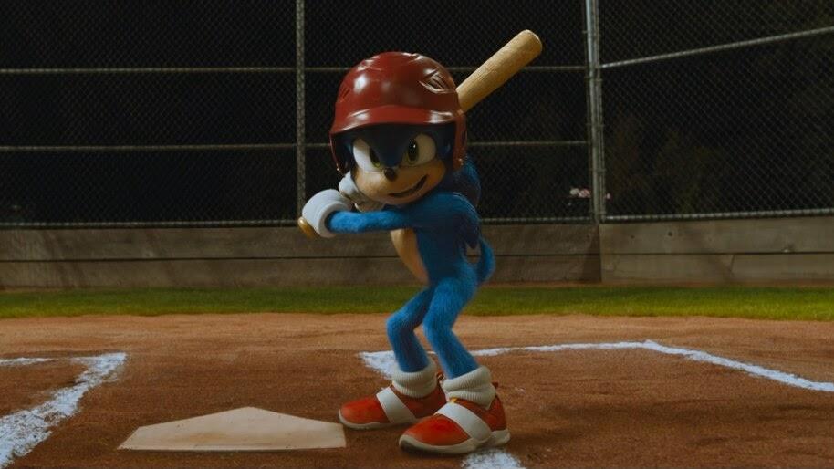 Sonic The Hedgehog, Baseball, New, 2020, 4K, #7.263