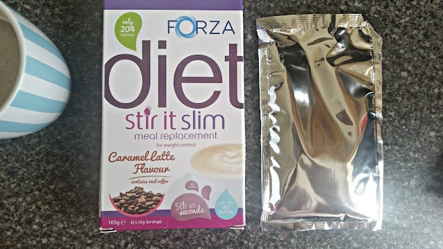 FORZA Stir It Slim Caramel Latte Review