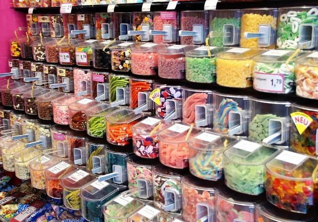 Pick-n-Mix sweet counter