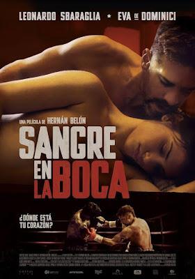 Sangre En La Boca 2016 DVD Custom NTSC Latino