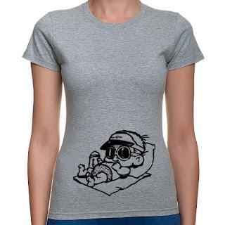 koszulka z bobasem dla ciężarnej