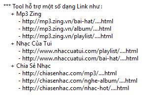 Phần mềm tải album mp3.zing.vn, nhaccuatui, chiasenhac 320kbps mới nhất 2017