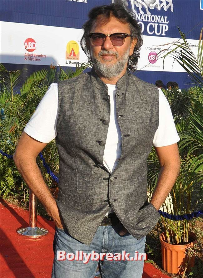 Rakeysh Omprakash Mehra, Manasi Scott, Saidah Jules at Yes Bank International Polo Cup 2014