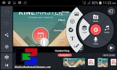Download aplikasi  video editor kine master