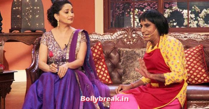 Dedh Ishqiya Cast On The Sets of Comedy Nights with Kapil, Mahduri Huma Promote Dedh Ishqiya on Comedy Nights with Kapil