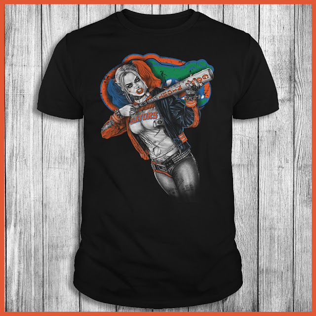 Florida Gators Harley Quinn Shirt