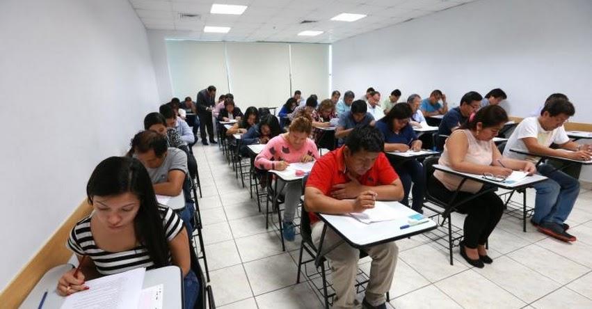 MINEDU: Más de 200 mil maestros participan hoy en Concurso de Nombramiento Docente 2018 (Resultados Martes 23 Octubre) www.minedu.gob.pe