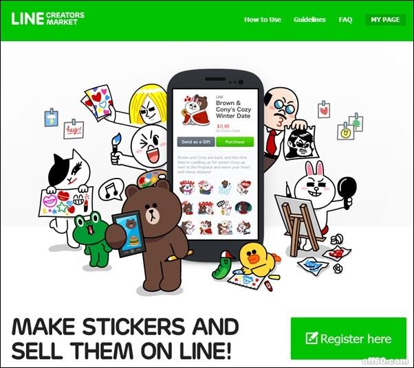 [教學] LINE Creators Market 貼圖市集帳號申請,圖片上傳