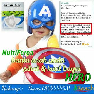 Produk tingkatkan antibodi anak