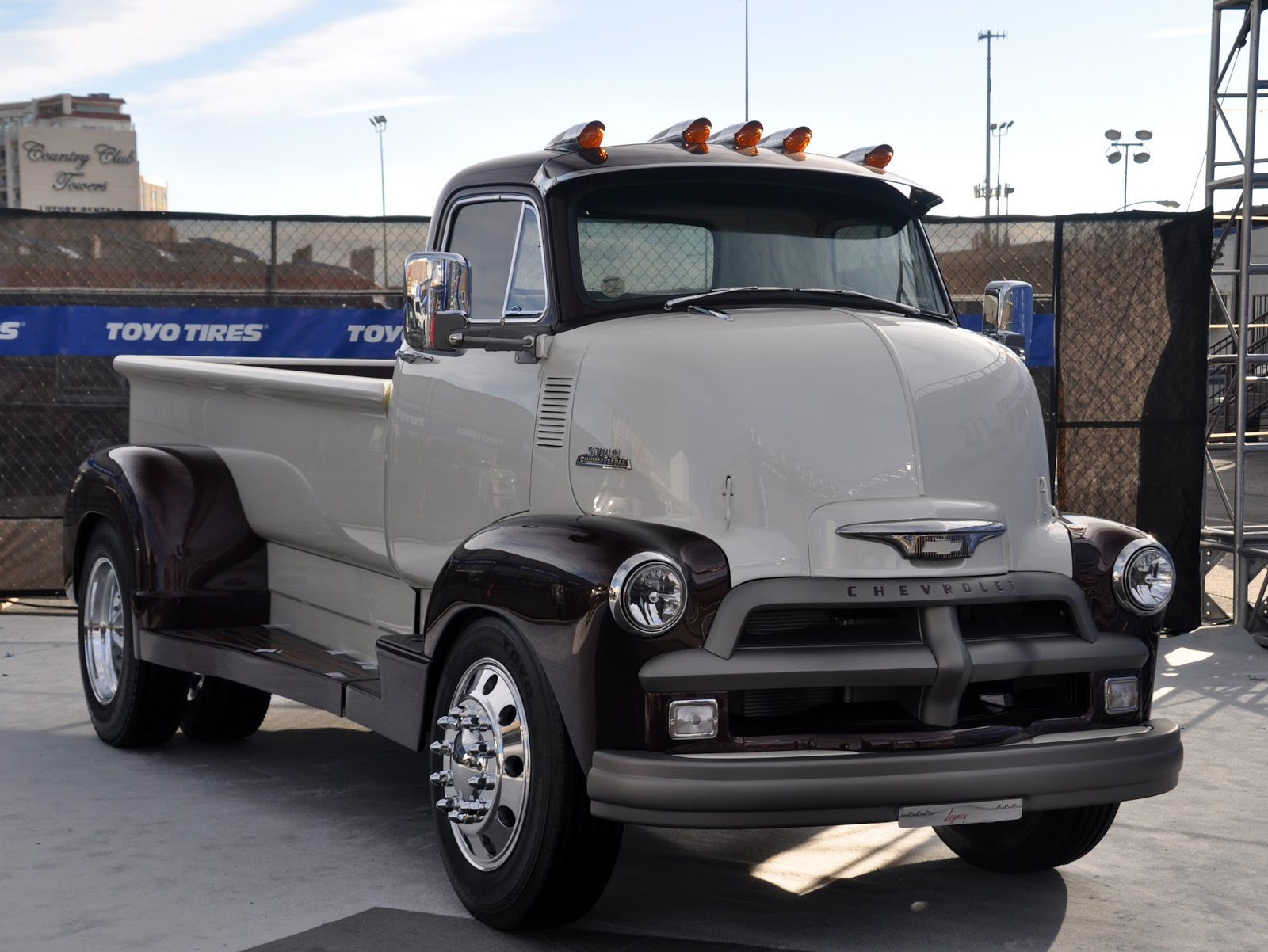 Just A Car Guy Legacy Innovations Made Cool 54 Chevy Coe From 1954 C10 Pick Up Field Find