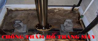 Chống thấm hố thang máy tại Quảng Ninh